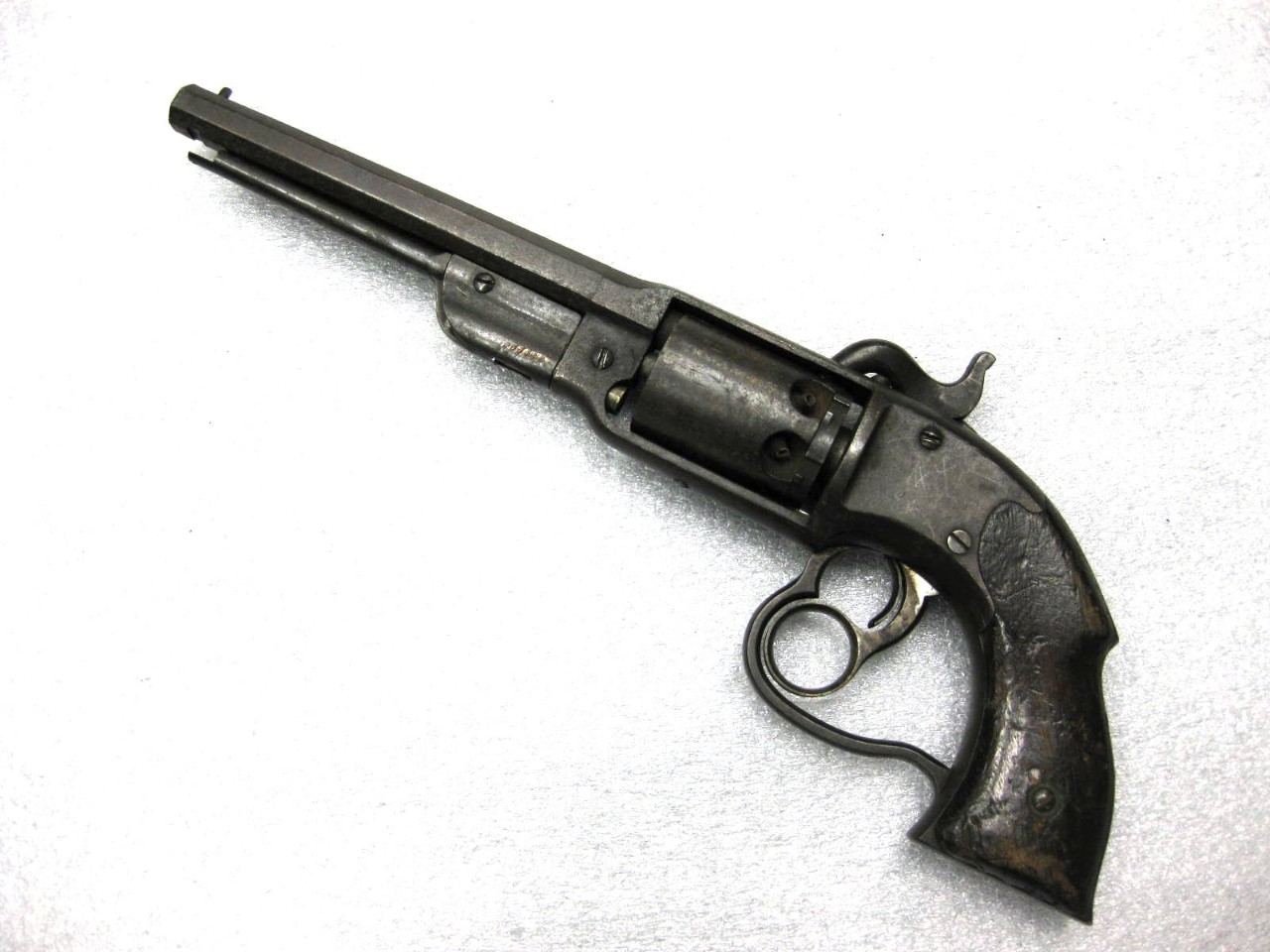 Revolver, Percussion, American, Savage, Navy Model