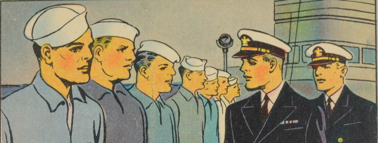 Gum Inc Card of Sailors