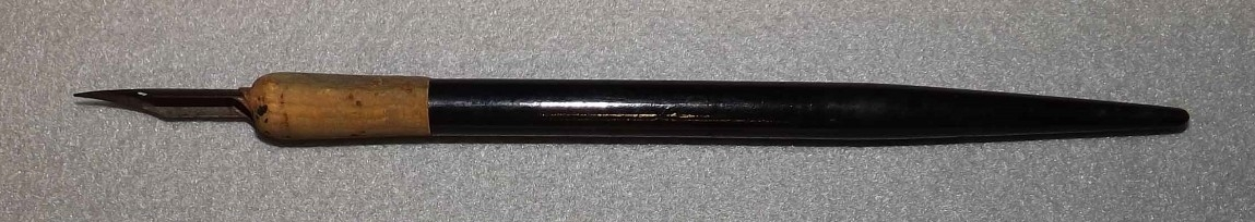 "<p>An 8.125-inch long dip style ink writing pen manufactured by the Spencarian Steel Pen company of New York. The pen was used in signing the surrender of Japanese forces stationed on Mili Atoll on 22 August 1945.</p> <div style=""left: -10000px; top: 0px; width: 9000px; height: 16px; overflow: hidden; position: absolute;""><div>&nbsp;</div> </div>"