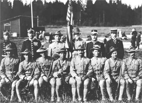 Image related to 1912 Olympics - U.S Olympic Rifle team