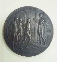 Image related to  1920 Olympic Participant Medal
