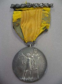 Image related to 1912 Olympics Silver Medal #1 Obverse - Carl Osburn