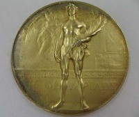 Image related to 1920 Olympics Gold Medal Obverse - Carl Osburn