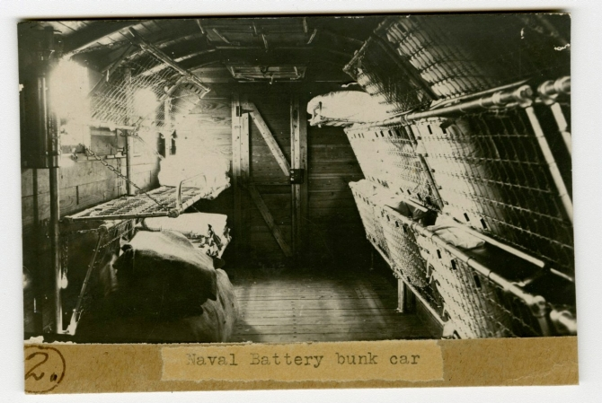 Naval Battery Bunk Car