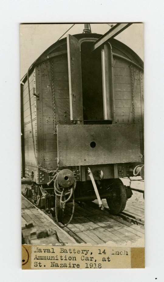 Naval Battery Ammunition Car