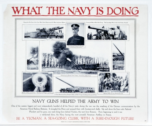"Poster -""What the Navy is Doing"""