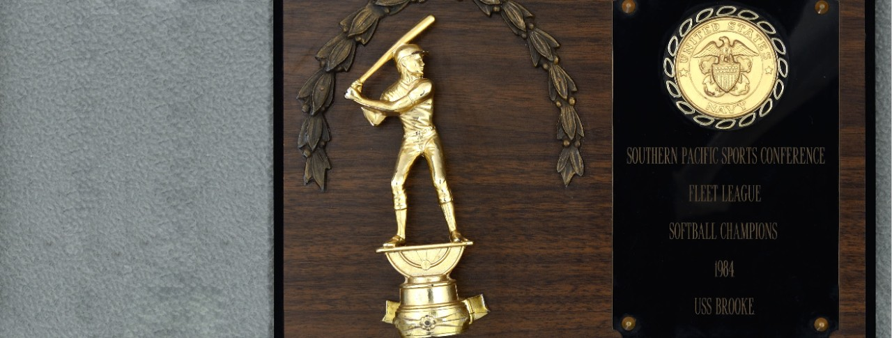 NHHC 1988-214-D Softball Trophy