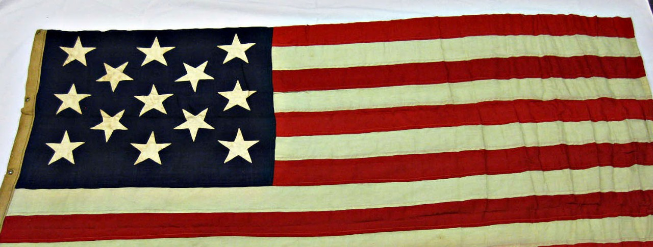 Boat Flag from the USS Olympia