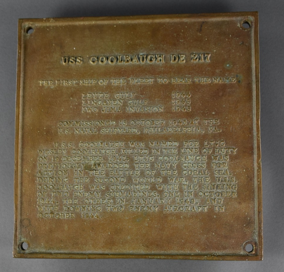 <p>Bronze Plaque raised lettering. green patina throughout</p>