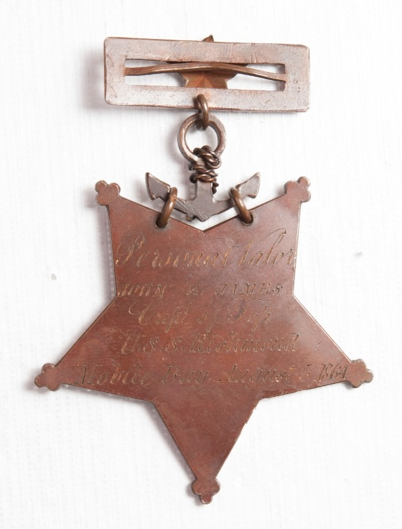 <p>Medal of Honor John H James Reverse</p>