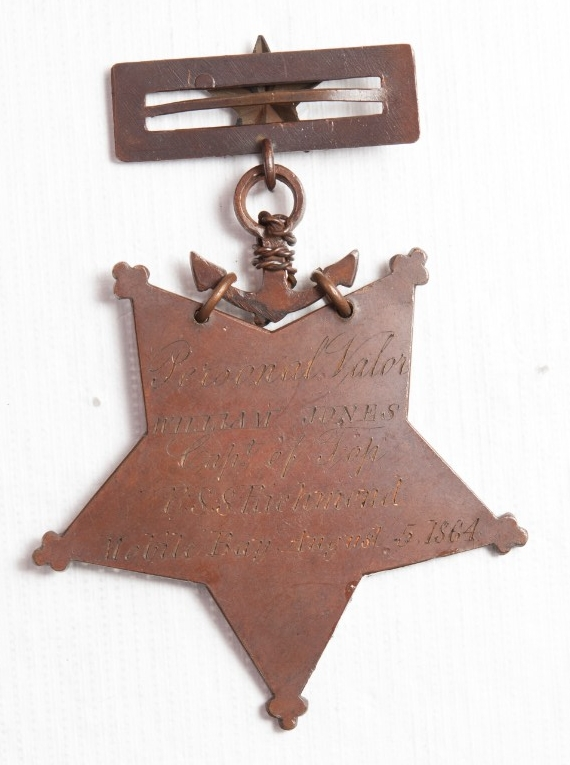 <p>Reverse Medal of Honor William Jones</p>