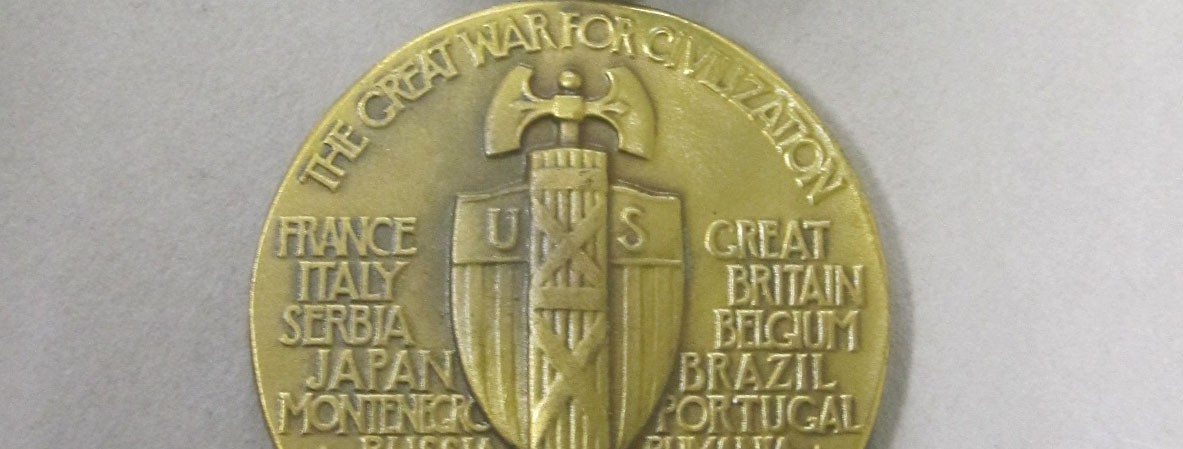 Reverse of WWI Victory Medal