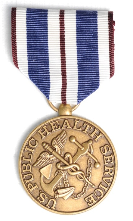 <p>Public Health Service Foreign Service Medal Obverse</p>