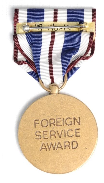 <p>Public Health Service Foreign Service Medal Reverse</p>