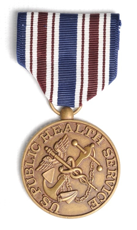 <p>Public Health Service Special Assignment Medal Obverse</p>