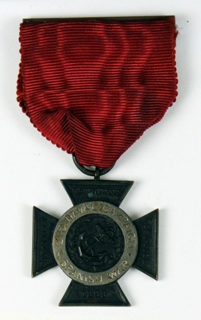<p>Obverse of Specially Meritorious Service Medal of Paymaster Galt</p>