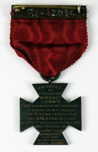 <p>Specially Meritorious Service Medal Paymaster Galt Reverse</p>