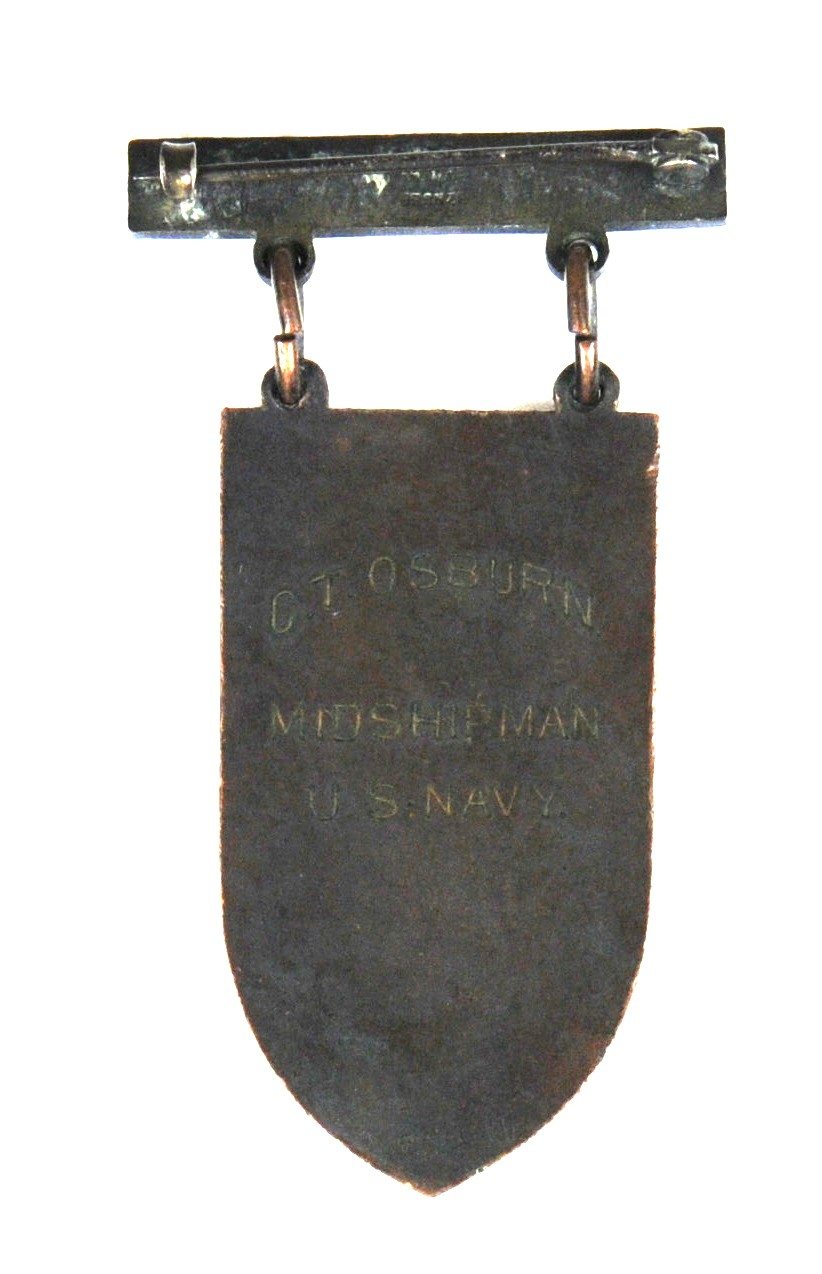Medal from the National Team Match of Carl T. Osburn from 1907