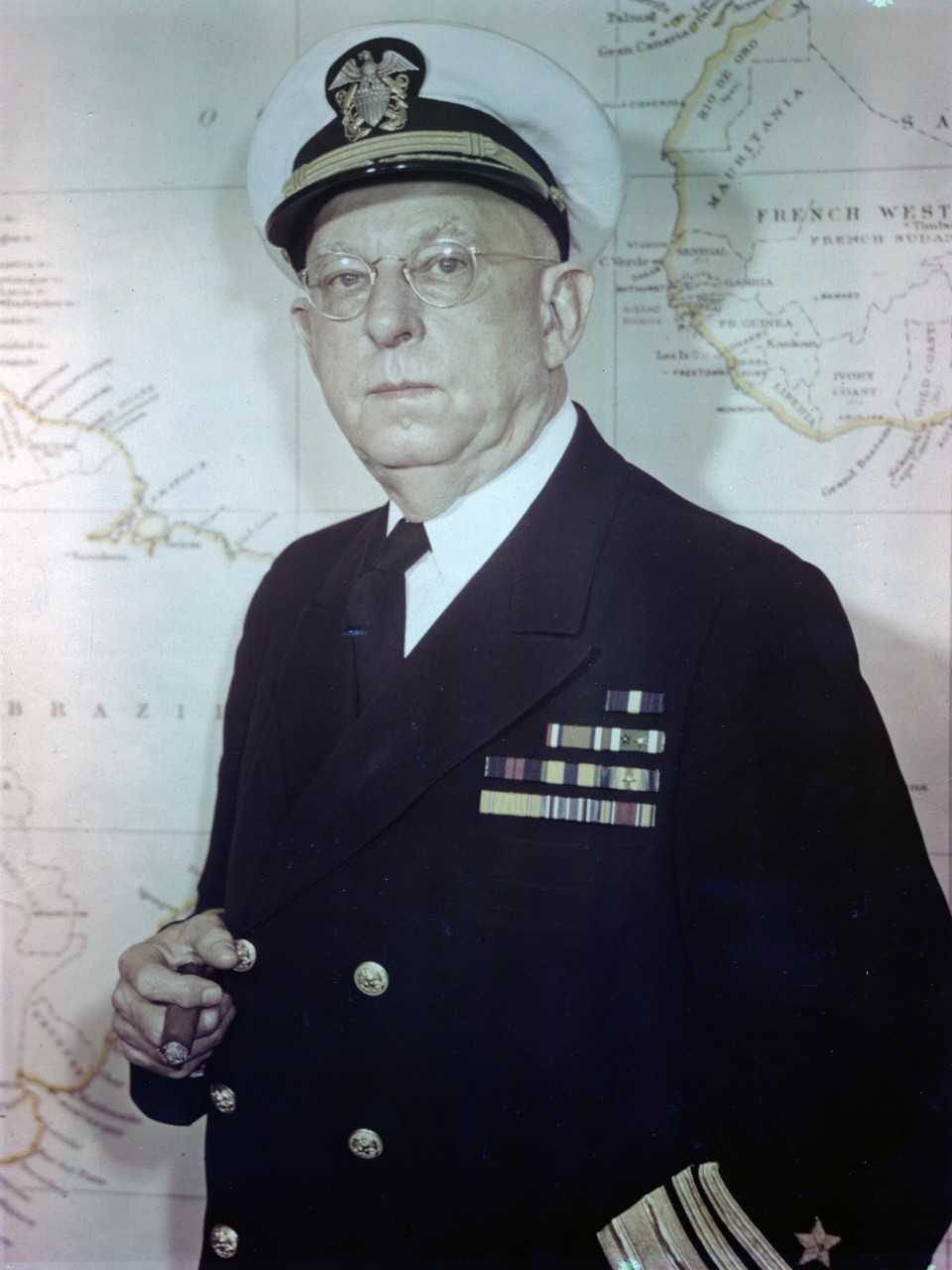 Approximately 300 photos, postcards, and negatives from the career of Vice Admiral Harold Bowen Sr. (1883-1965), who served as head of the Naval Research Laboratory and the Office of Naval Research. Originally donated by Bowen to the Naval Historical Foundation, and subsequently donated to the Naval History and Heritage Command. There are a few photos of his early life and career, but the preponderance of material is from his time as a flag officer. There are a significant number of posed portraits, as well as award ceremonies, meetings, and public events. A small selection of images show ship christenings and launchings. Some photos have been assigned NH numbers or were removed to the NH collection.