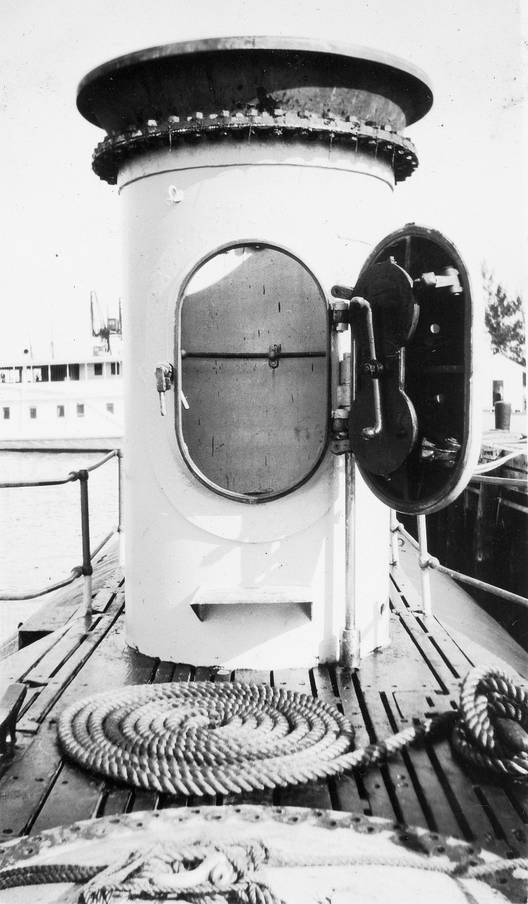 Air lock on S-4. It was also used to attach rescue chambers.