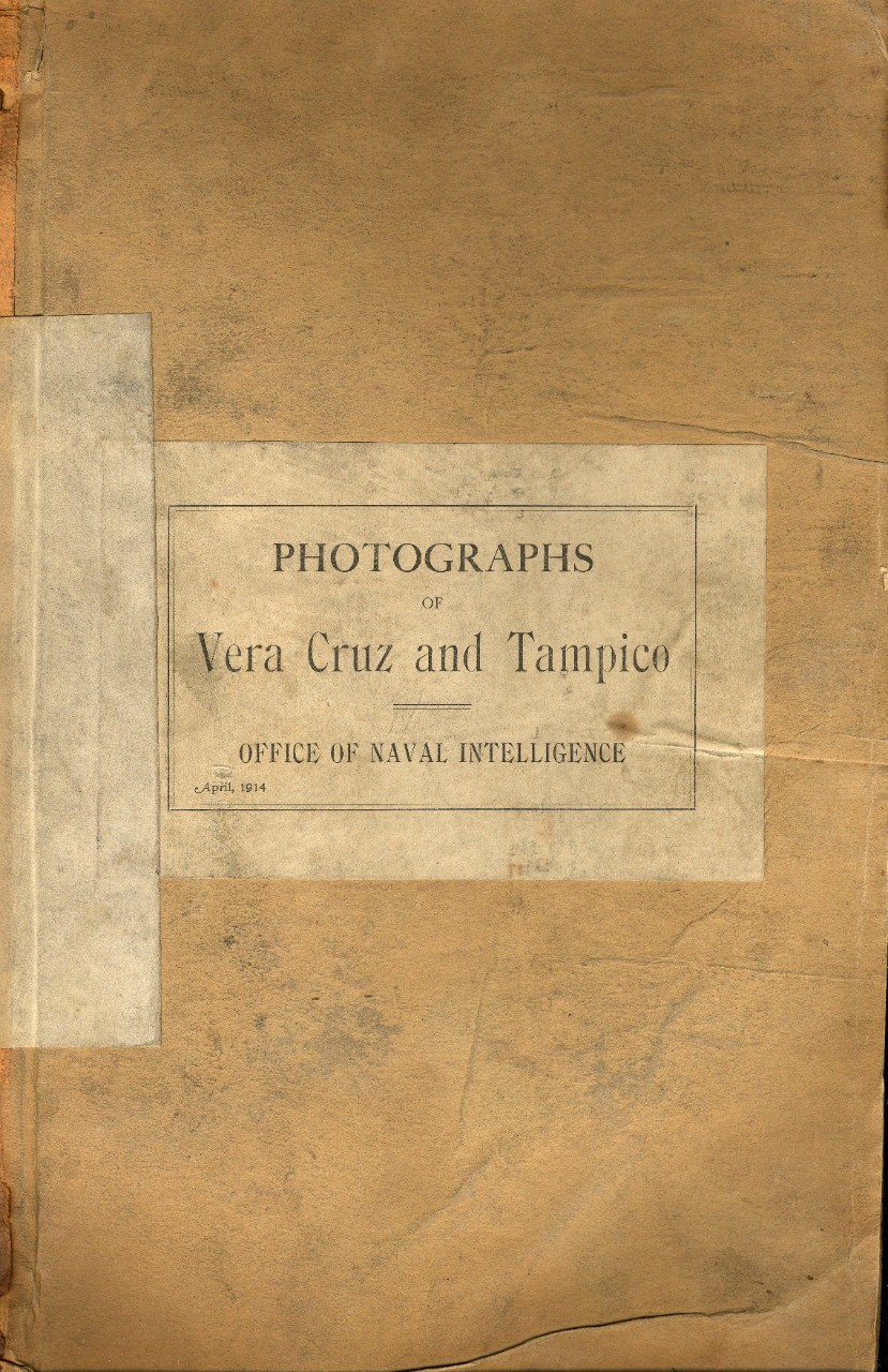 Photo book produced by the Office of Naval Intelligence with 98 photographs of the Vera Cruz and Tampico areas in Mexico, 1914. Views of cities, buildings, and countryside. Particular emphasis on transportation facilities, including railroads, bridges, wharves, rivers, and harbors. Photos may have been used in advance of United States military operations in the area in 1914. Cruiser USS Salem (CL-3) can be seen in 1 view.