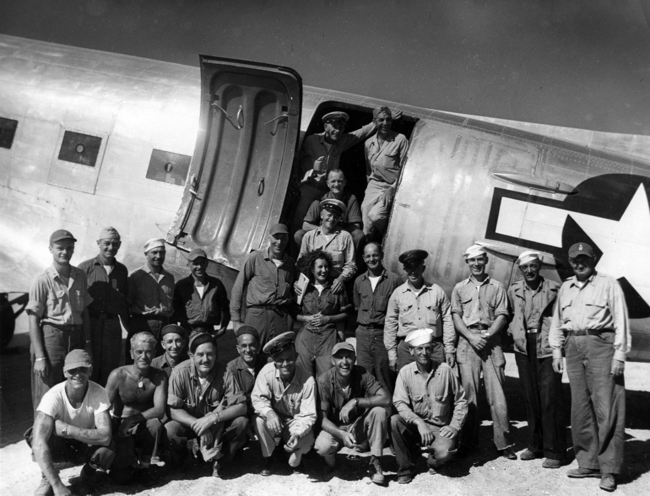 Crewmembers of the Naval Air Transport Service (NATS), WWII