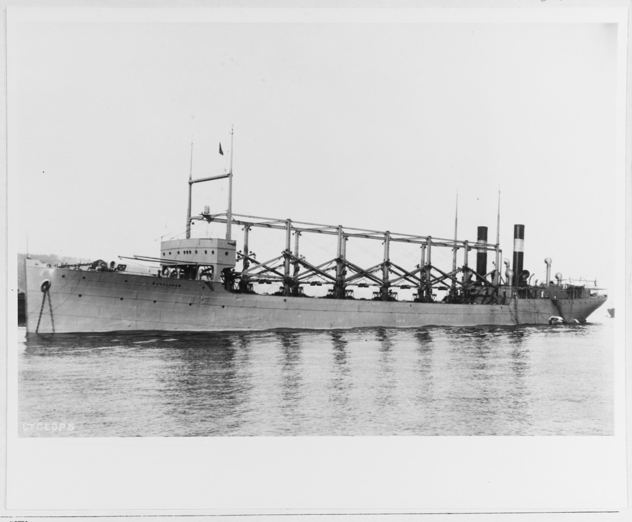 Photo #: 19-N-13451  USS Cyclops (1910-1918)