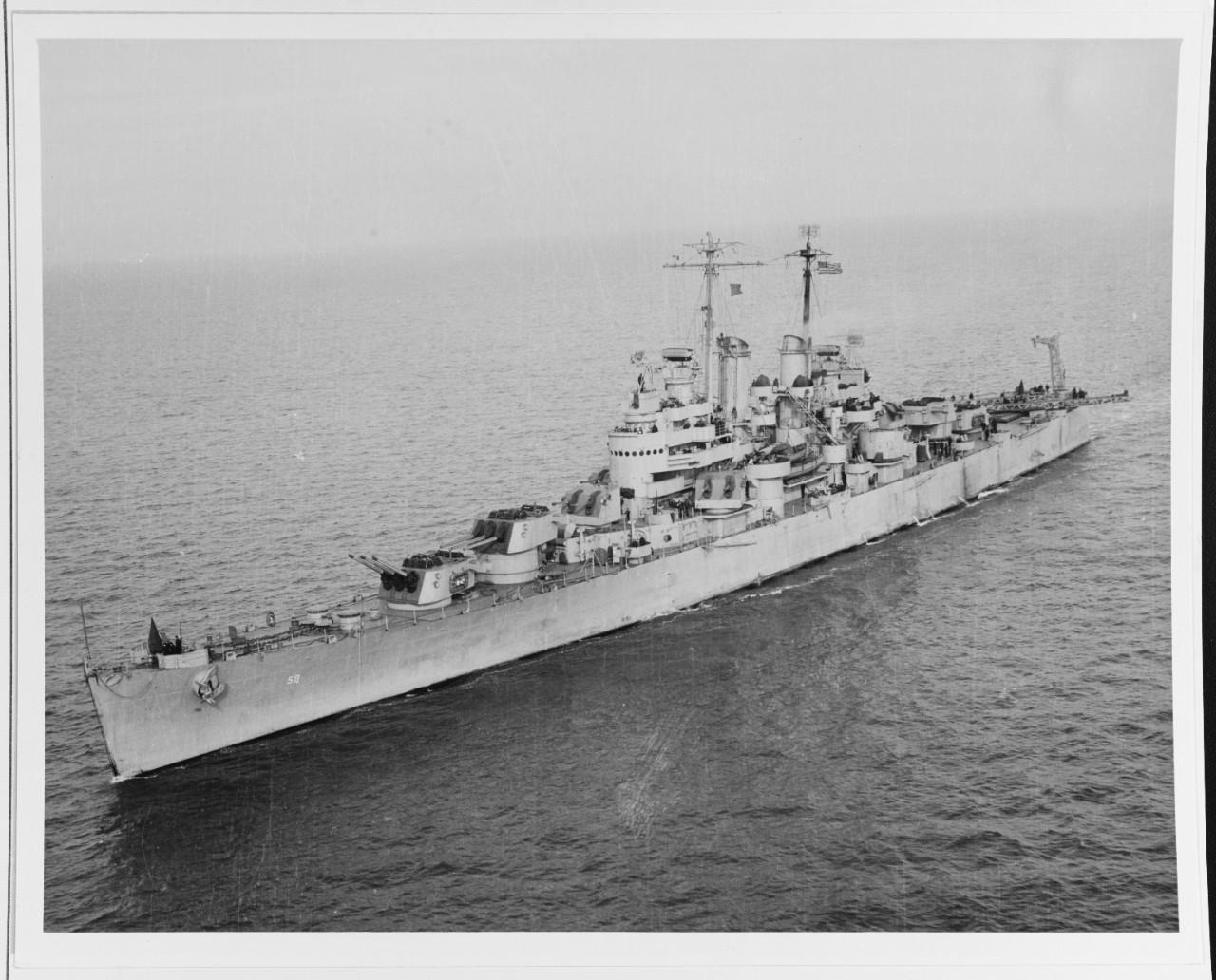 19-N-39431 USS Denver (CL-58