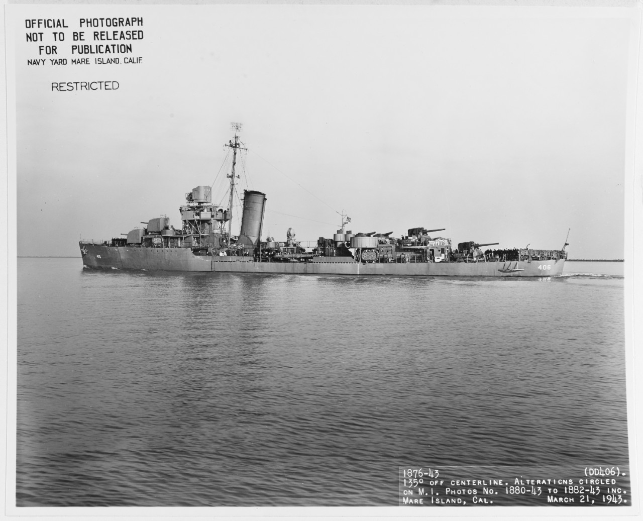 Photo #: 19-N-42250  USS Stack (DD-406)