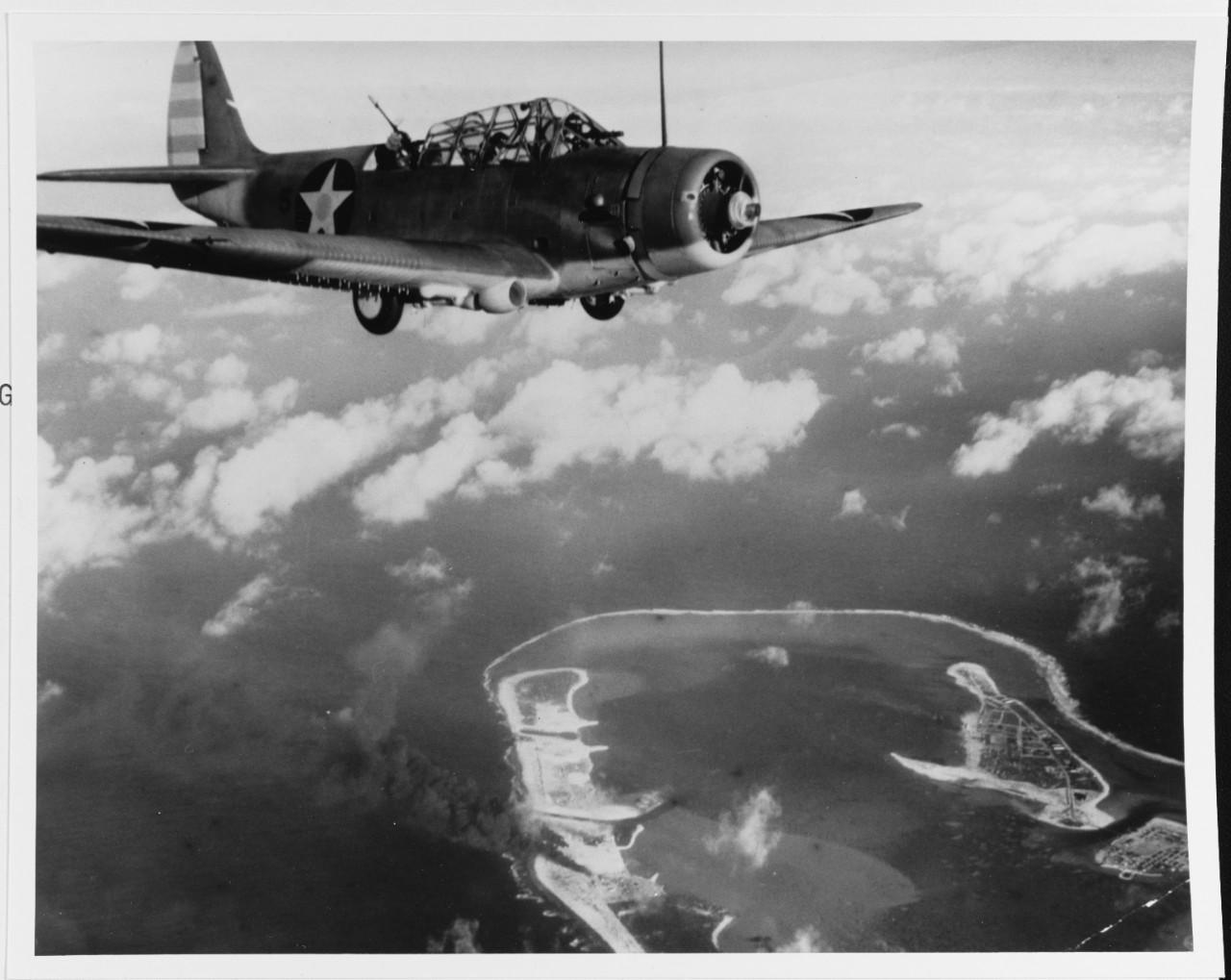 Photo #: 80-CF-1071-1  Wake Island Raid, 24 February 1942