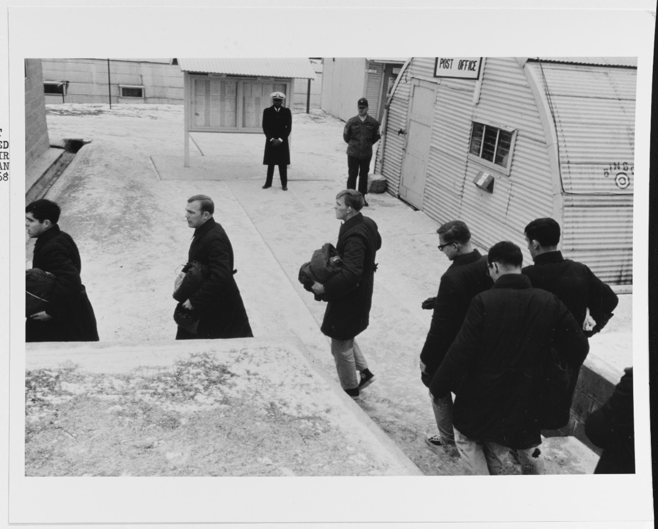 Photo #: K-64723  Repatriation of USS Pueblo Crew, December 1968