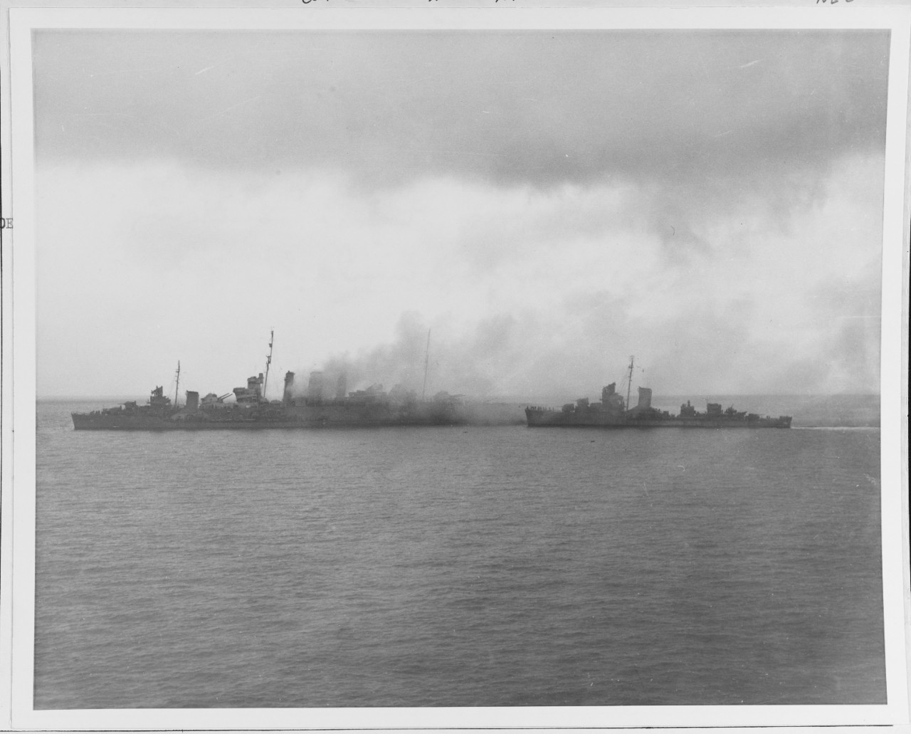 Photo #: 80-G-13488  Battle of Savo Island, 9 August 1942