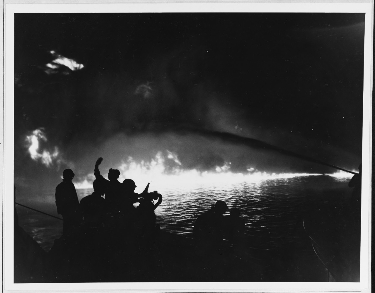 Photo #: 80-G-276929  Pearl Harbor LST Explosion, 21 May 1944