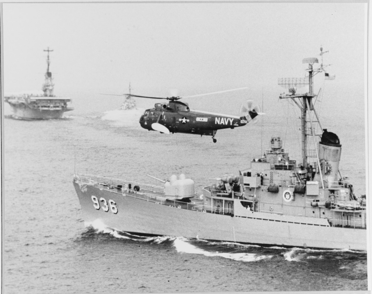 "Photo #: USN 710896  Sikorsky HSS-2 ""Sea King"" helicopter"