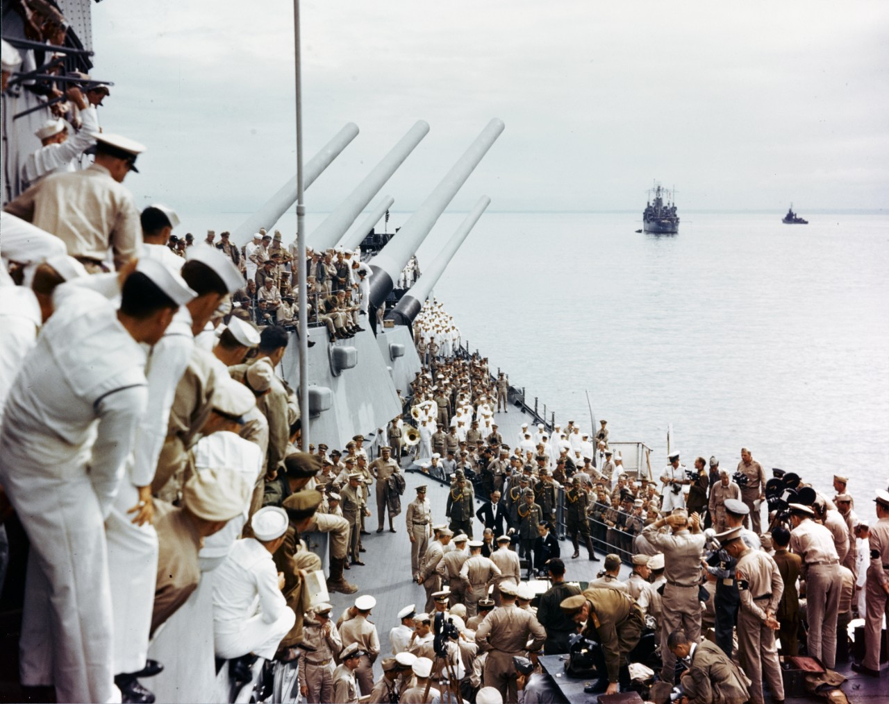 Surrender of Japan, Tokyo Bay, 2 September 1945