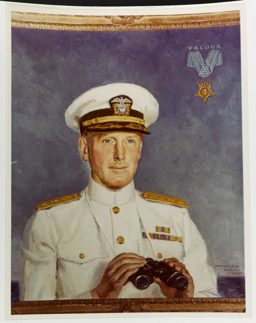 Photo #: KN-10864 (Color) Rear Admiral Norman Scott, USN
