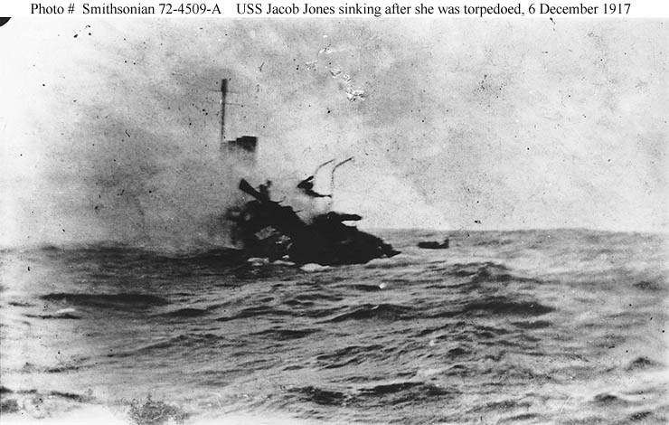 Photo #: Smithsonian 72-4509-A  USS Jacob Jones