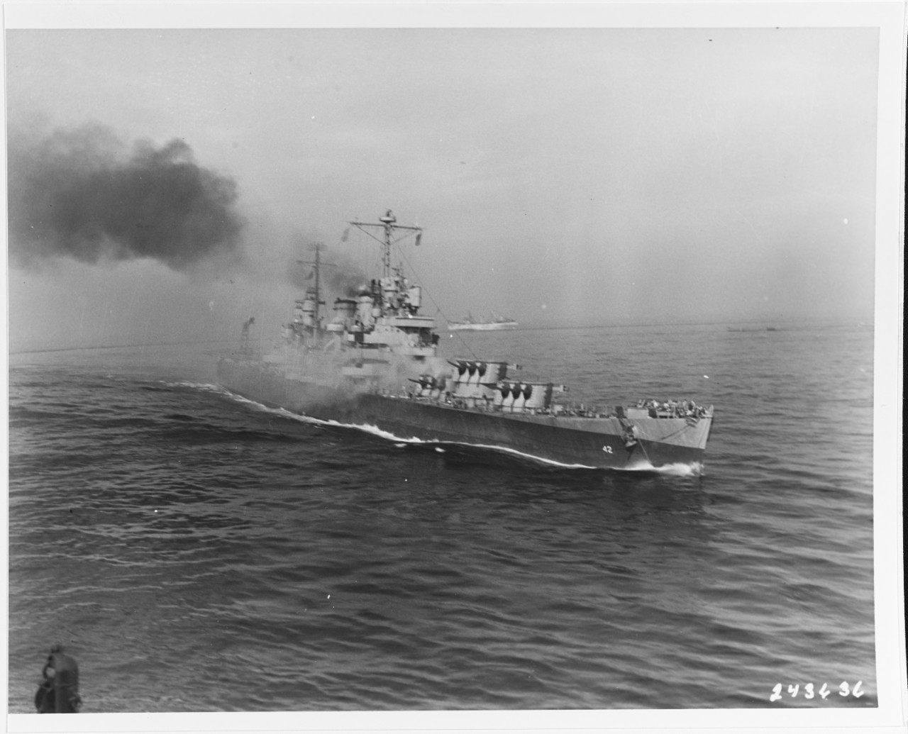 Photo #: SC 243636  USS Savannah (CL-42)