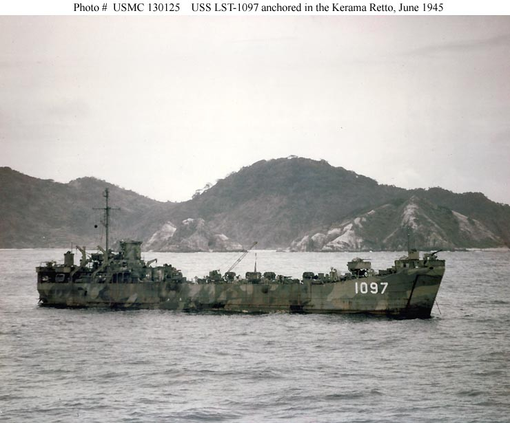 Photo #: USMC 130125 USS LST-1097