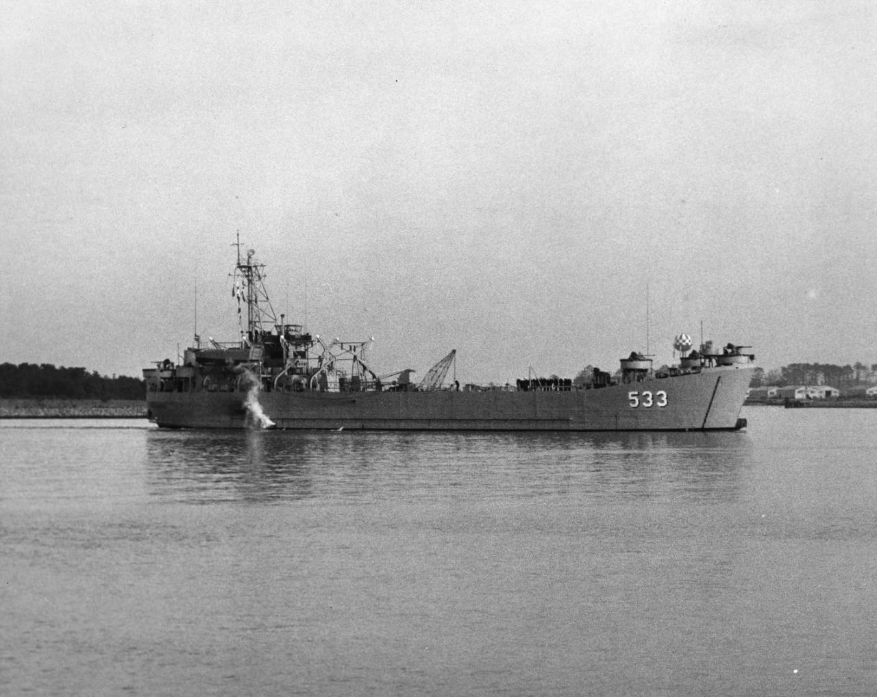 USS Cheboygan County (LST-533)