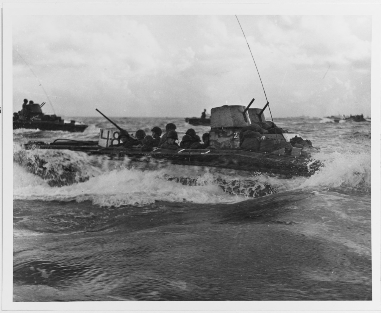 Tinian Invasion, July 1944