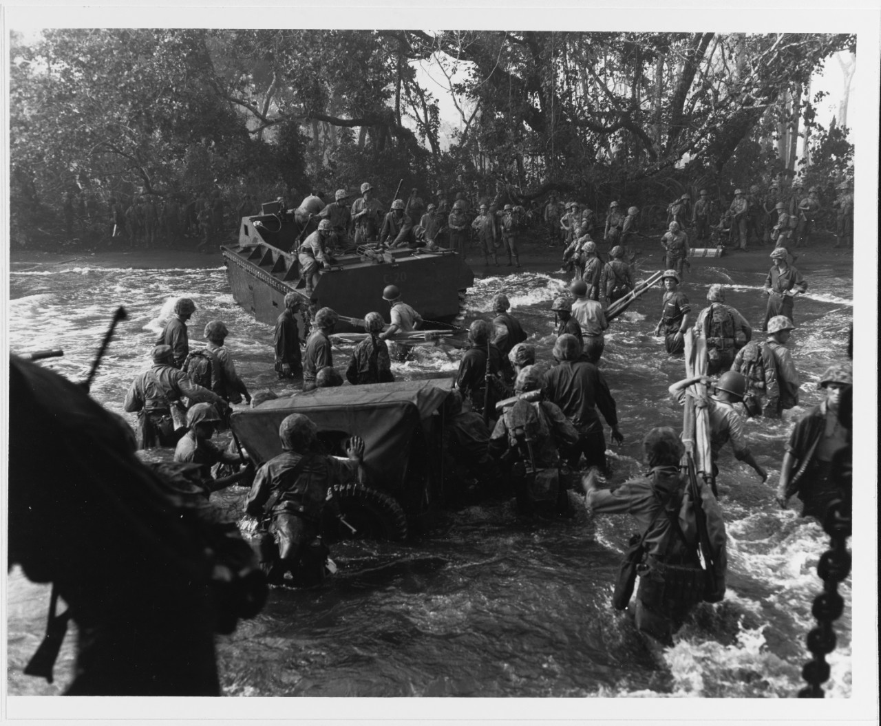 Cape Gloucester Invasion, December 1943.
