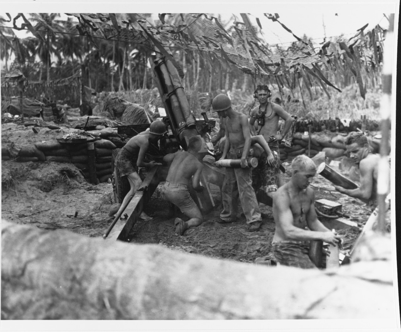 Bougainville Operation, November 1943.