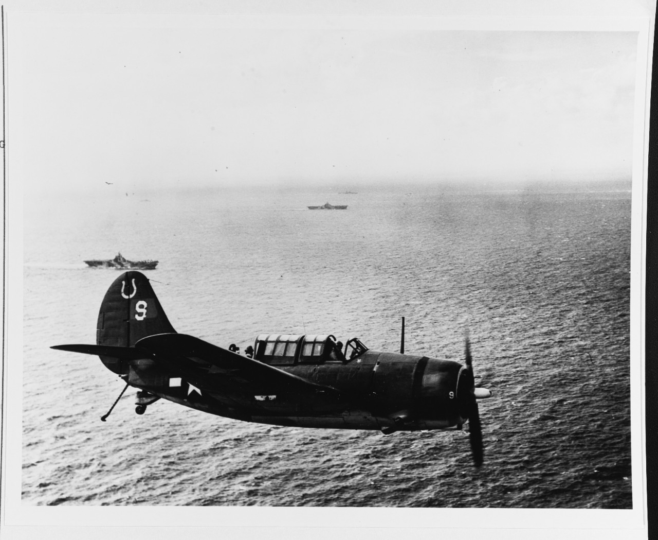 SB2C from USS HANCOCK (CV-19)