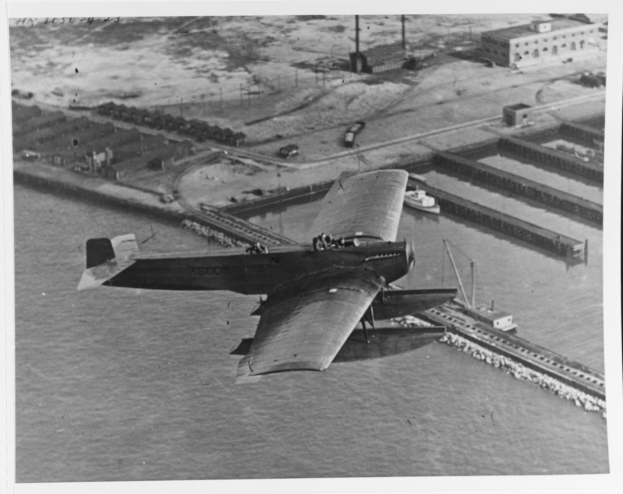 Fokker FT-1 torpedo aircraft (BuNo A-6008)