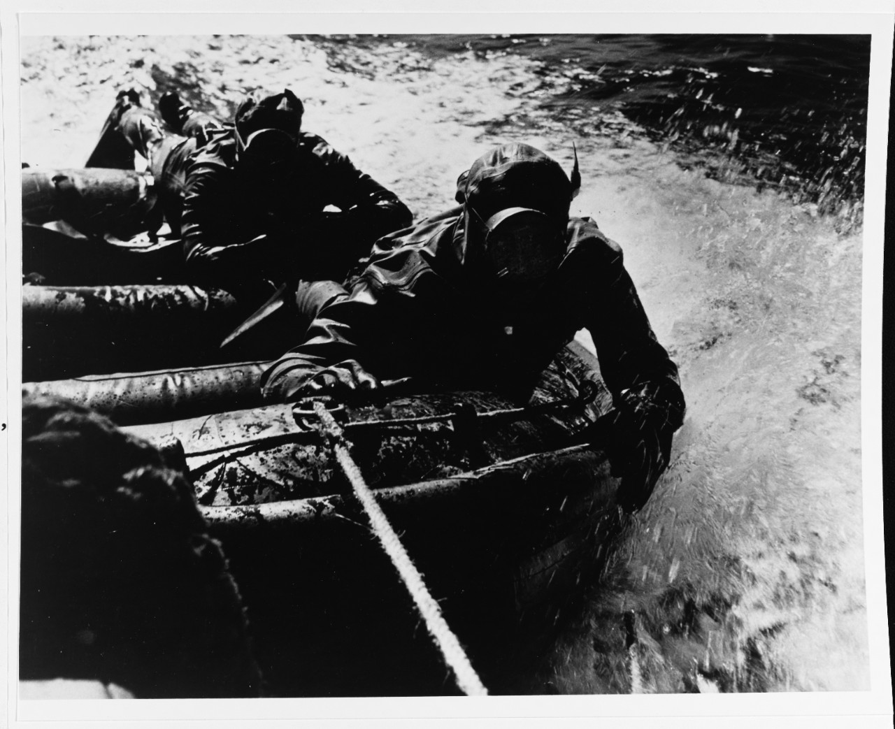 """Frogmen"" of Underwater Demolition Team No. 1"