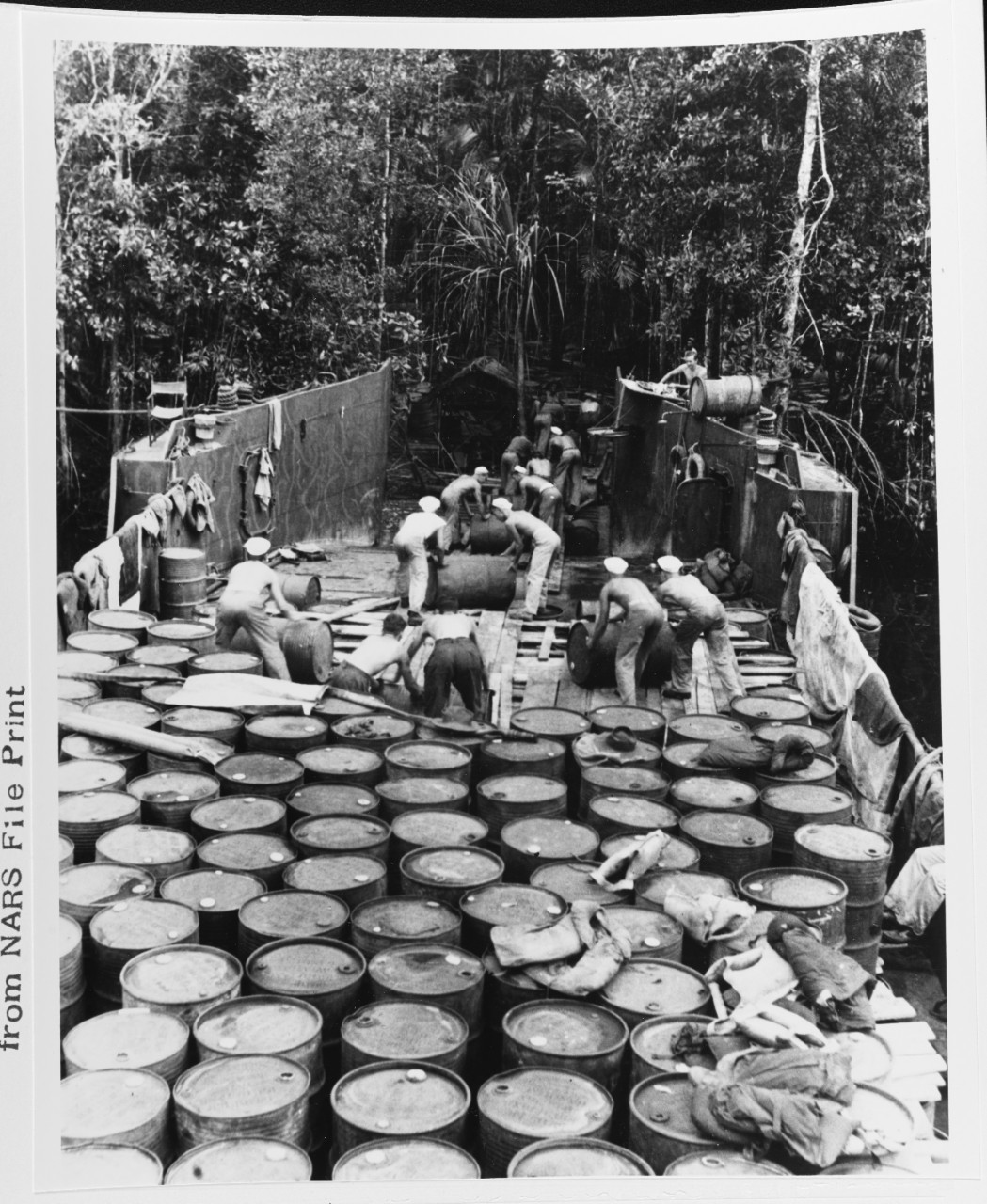 Morobe PT Boat Base, New Guinea