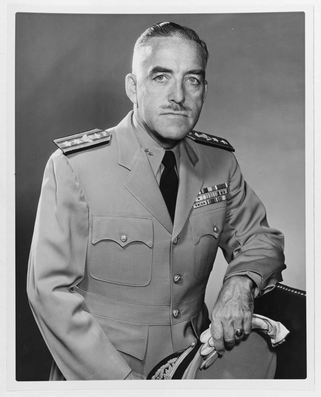 Rear Admiral Bartholomew W. Hogan, USN (Medical Corps)