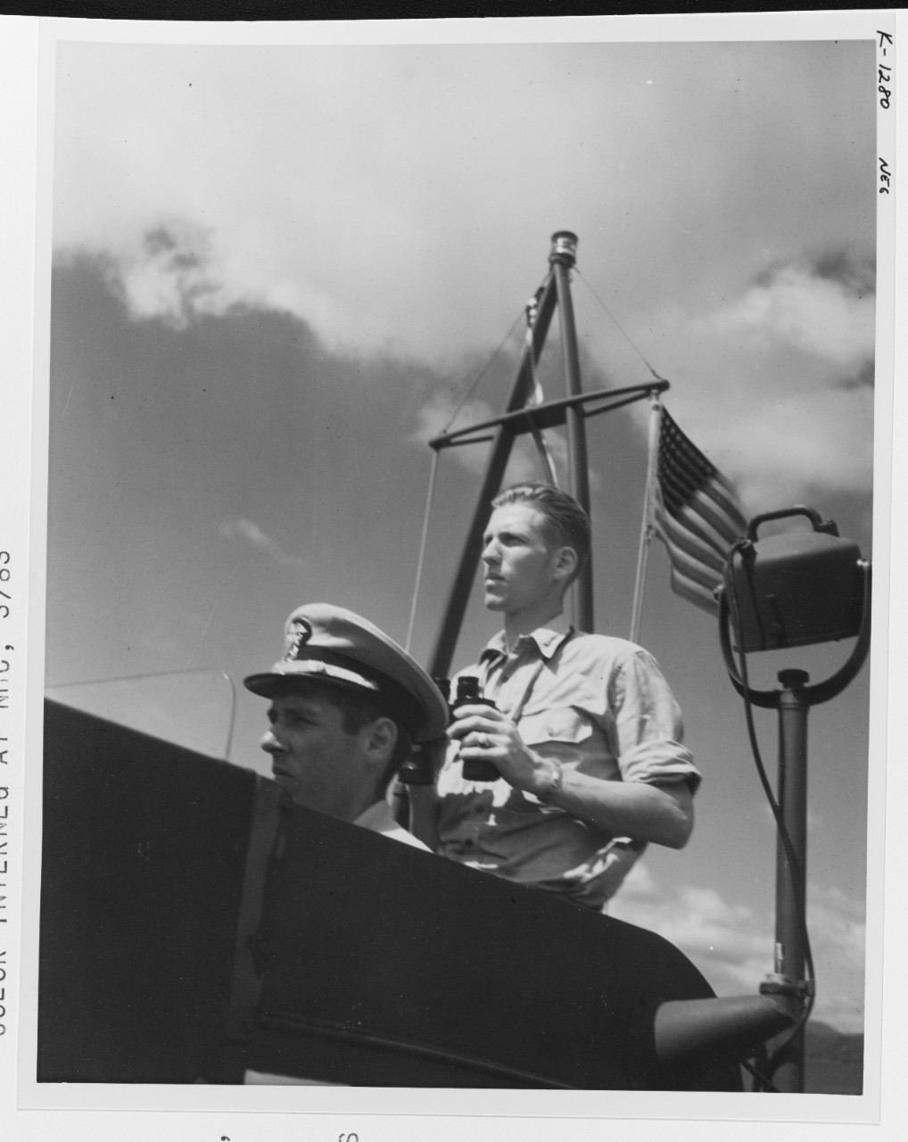 Lieutenant Commander Robert B. Kelly, Commanding Officer of MTB Squadron Nine