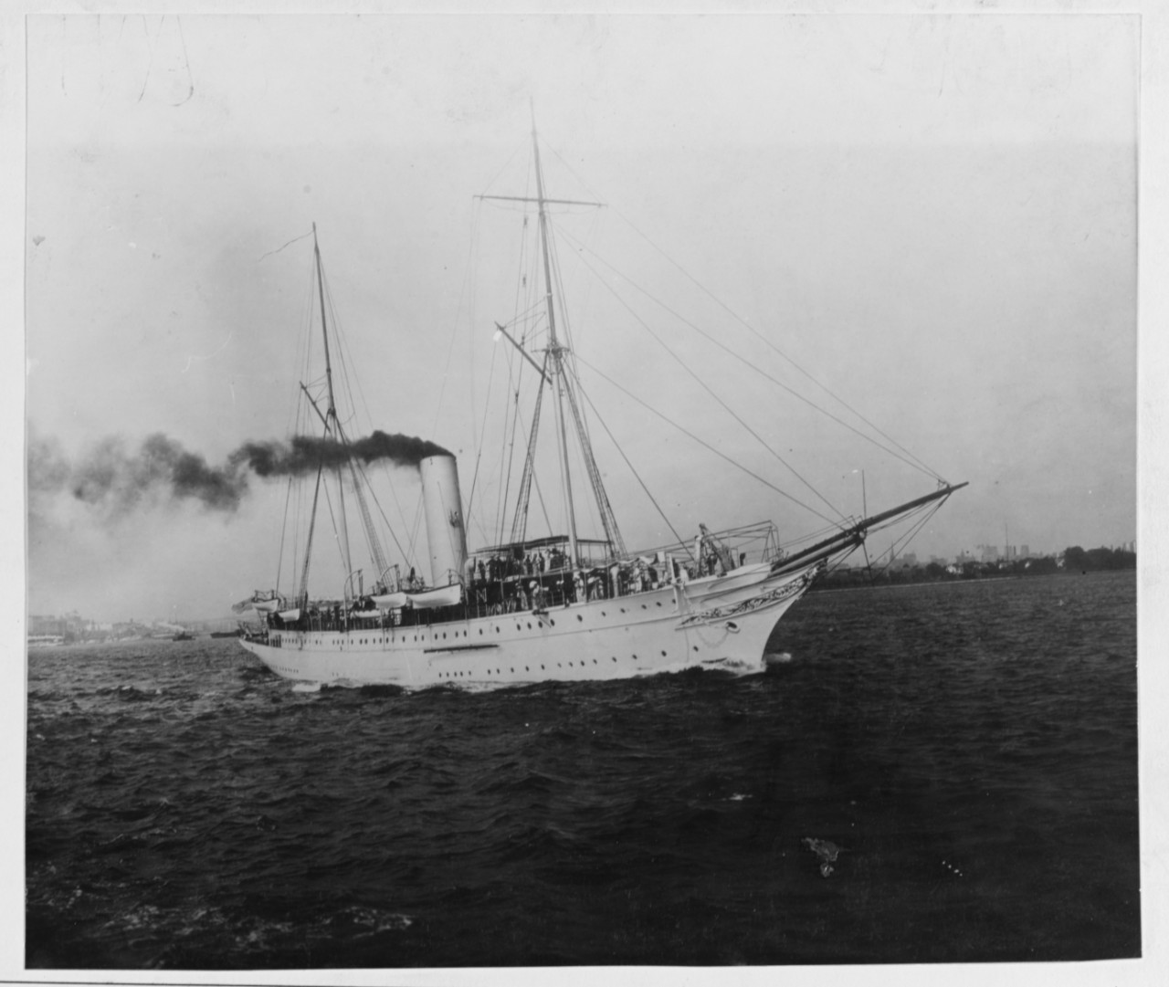 USS MAYFLOWER (PY-1), 1898-1931